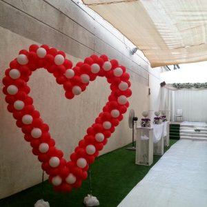 בולי בלון-לבבות-חתונה