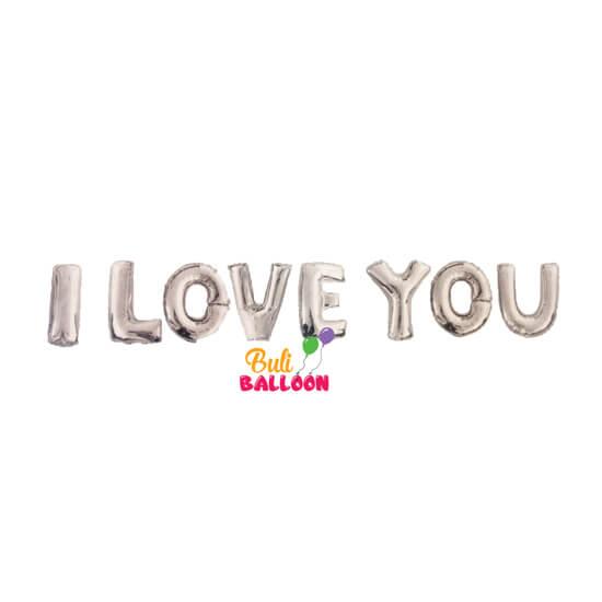 בלון i love you לחתונות ואירועים