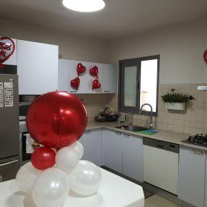 בולי בלון-סידור חדר-הצעת נישואין-ימי הולדת